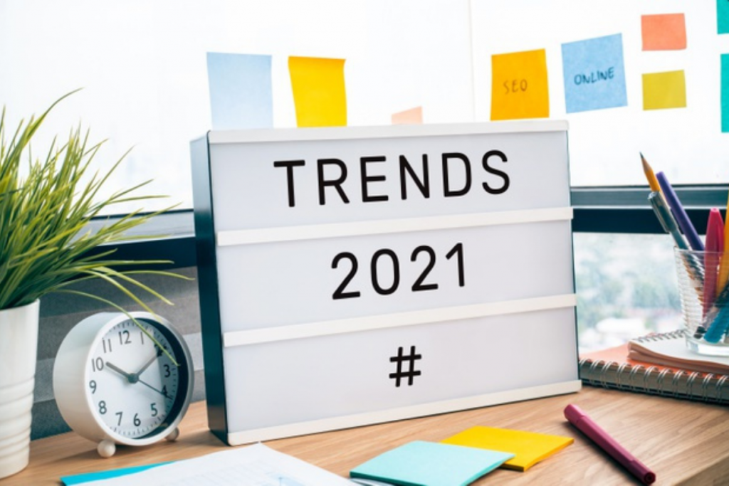 lightbox with trends 2021